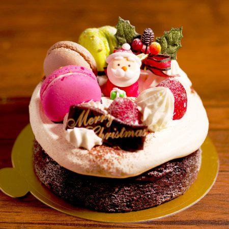 クリスマスケーキ2020ショコラサンタ