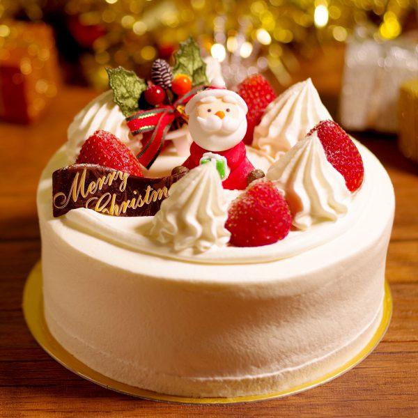 クリスマスケーキいちごサンタクリスマス2020