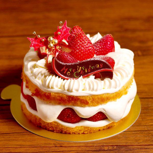 クリスマスケーキ2020丸ごと苺のクリスマス